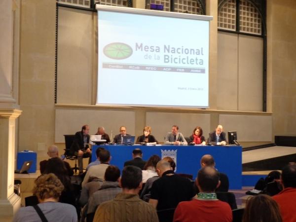 PresentacionMesaNacionalBicicleta